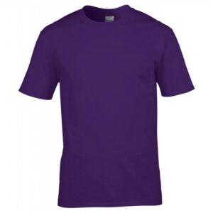 Premium Cotton Ring Spun T-Shirt_purple