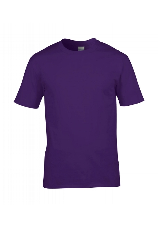 Premium Cotton Ring Spun T-Shirt_purple