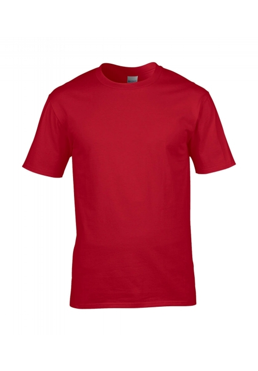 Premium Cotton Ring Spun T-Shirt_red