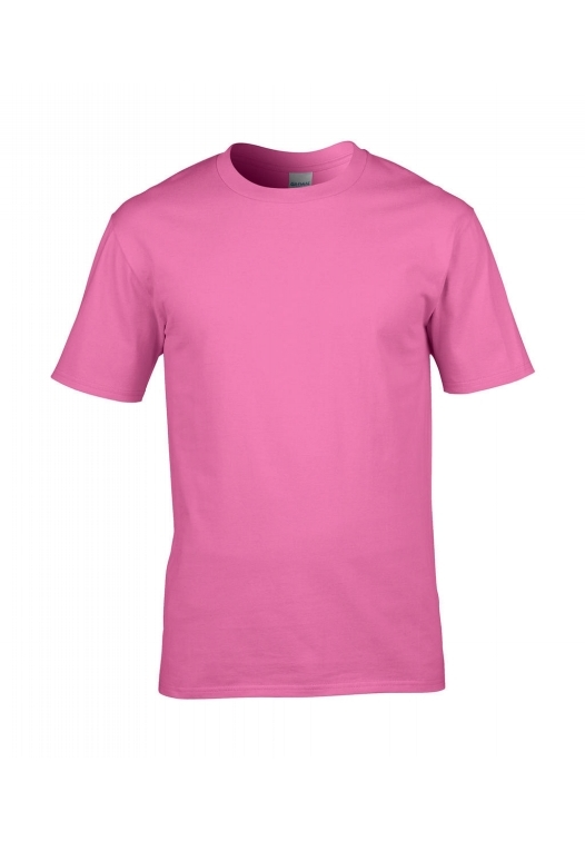 Premium Cotton Ring Spun T-Shirt_azalea