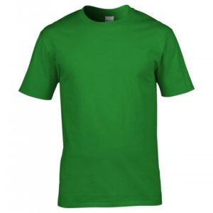 Premium Cotton Ring Spun T-Shirt_irish-green