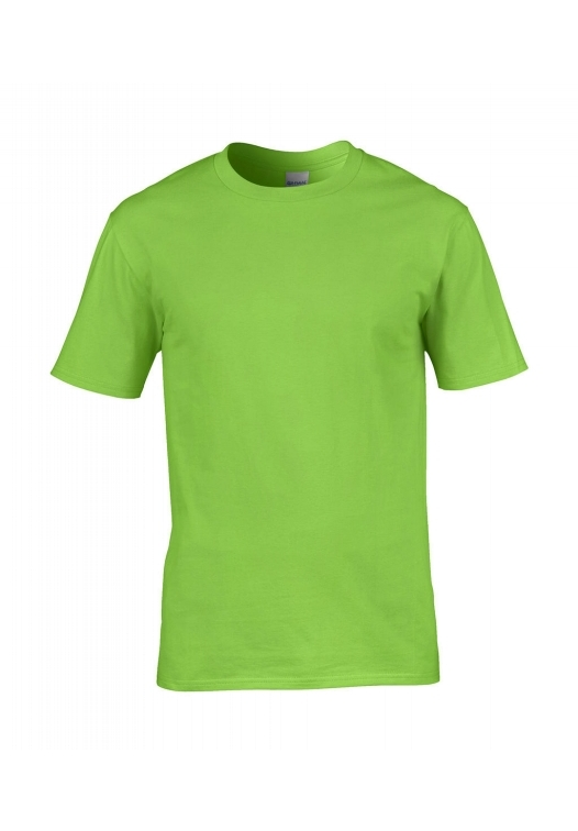 Premium Cotton Ring Spun T-Shirt_lime