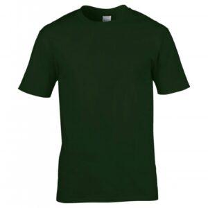 Premium Cotton Ring Spun T-Shirt_forest-green