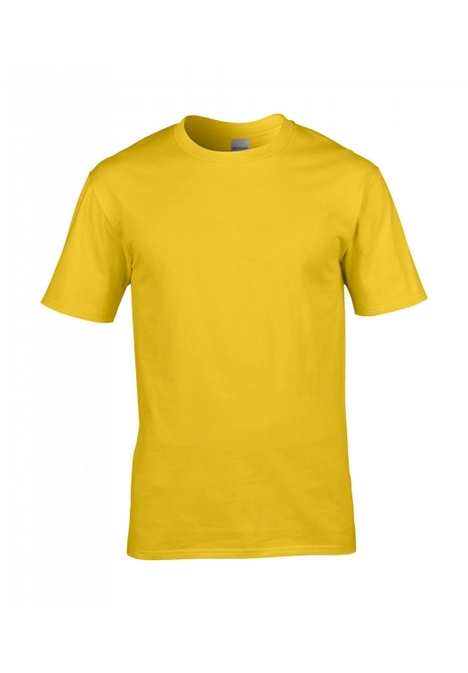 Premium Cotton Ring Spun T-Shirt_daisy-yellow
