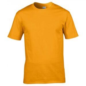 Premium Cotton Ring Spun T-Shirt_gold