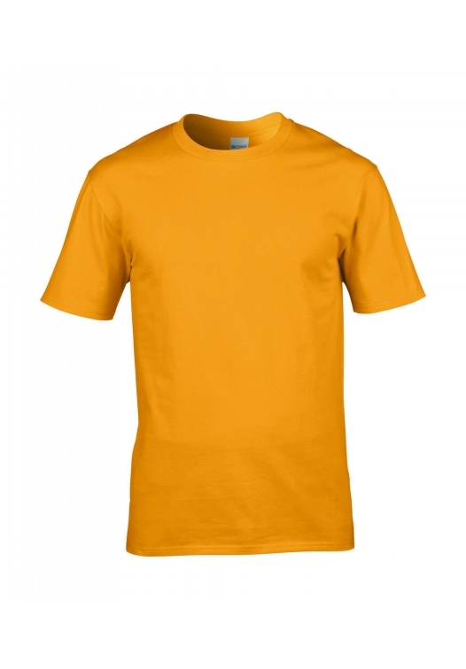 Premium Cotton Ring Spun T-Shirt_gold
