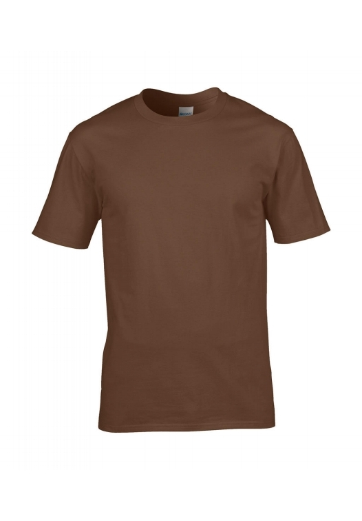 Premium Cotton Ring Spun T-Shirt_chestnut