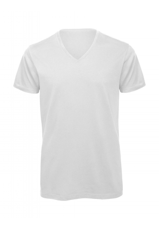 V-Neck T-Shirt – TM044_white