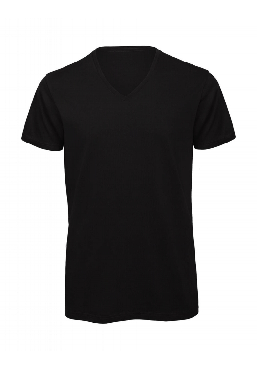 V-Neck T-Shirt – TM044_black