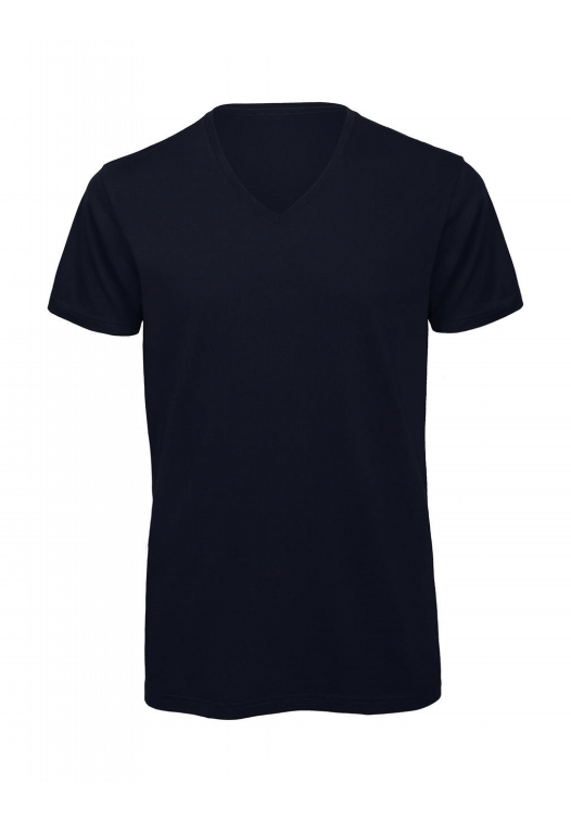 V-Neck T-Shirt – TM044_navy