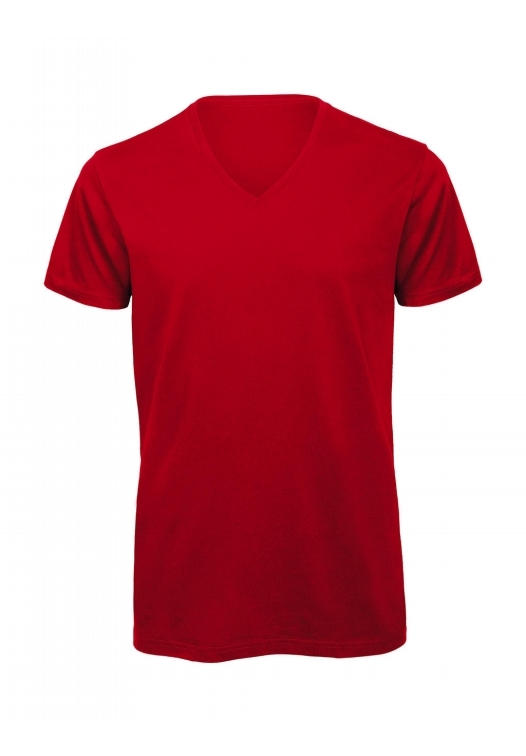 V-Neck T-Shirt – TM044_red
