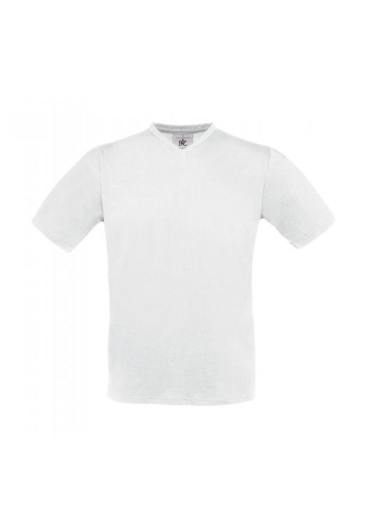 V-Neck T-Shirt TU006_white
