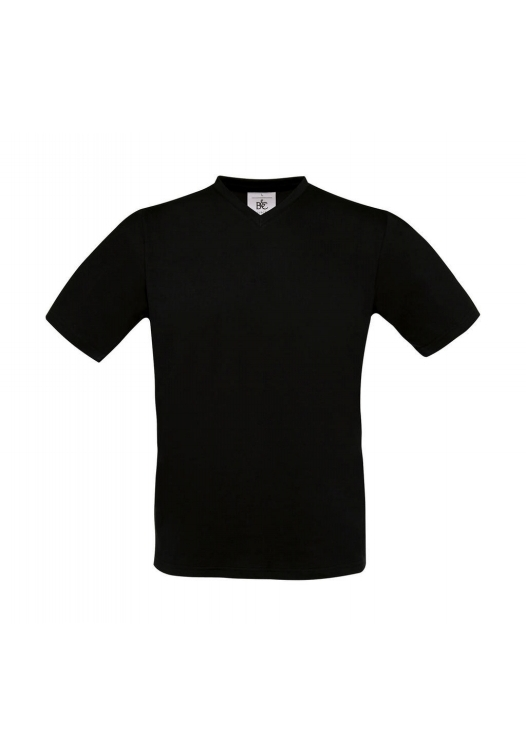 V-Neck T-Shirt TU006_black