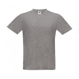 V-Neck T-Shirt TU006_sport-grey