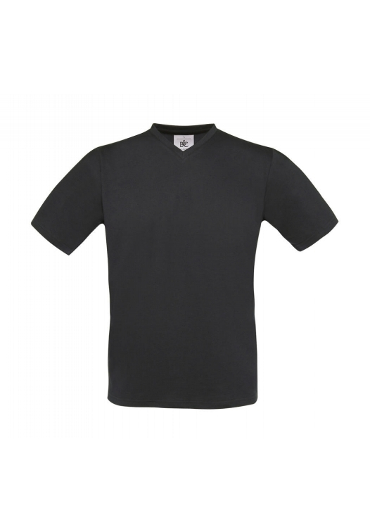 V-Neck T-Shirt TU006_dark-grey