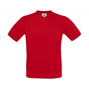 V-Neck T-Shirt TU006_red