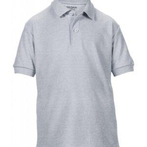 DryBlend Youth Double Piqué Polo_sport-grey
