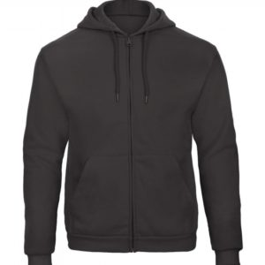 Hooded Full Zip Sweatshirt Unisex WUI25_anthracite
