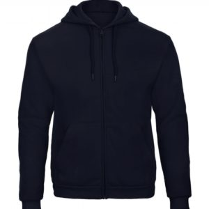 Hooded Full Zip Sweatshirt Unisex WUI25_navy
