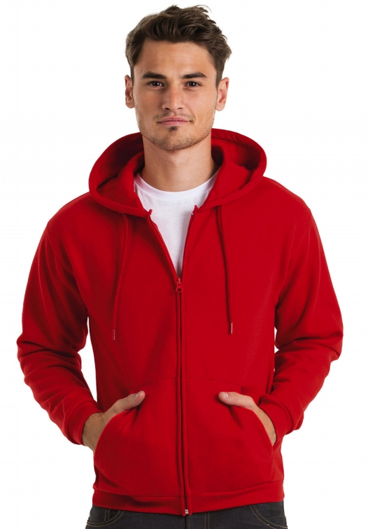 Hooded Full Zip Sweatshirt Unisex WUI25_Titel