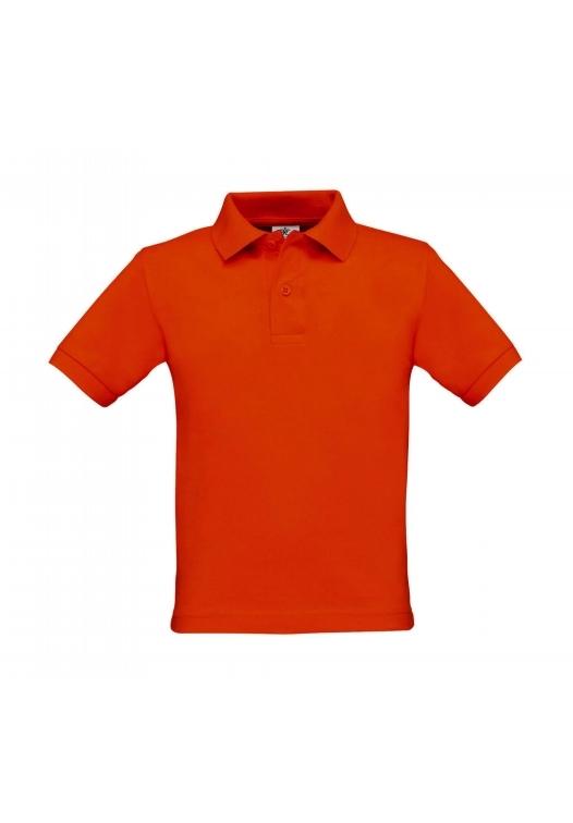 Kids Polo PK486_pumpkin-orange