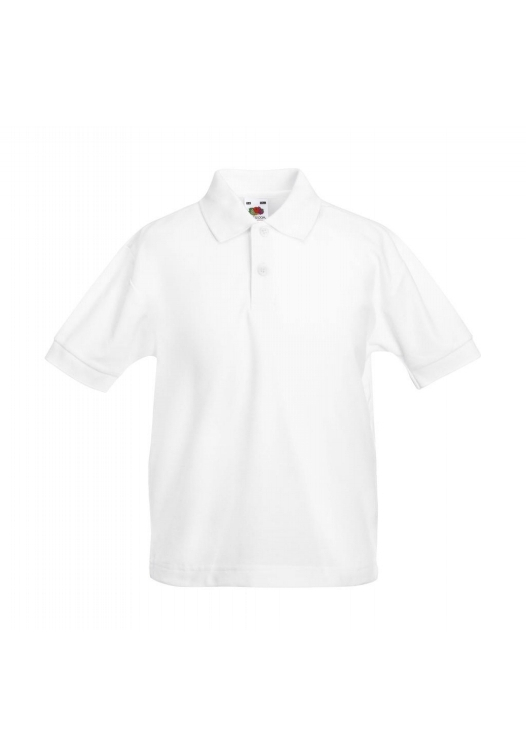 Polo Kids_white