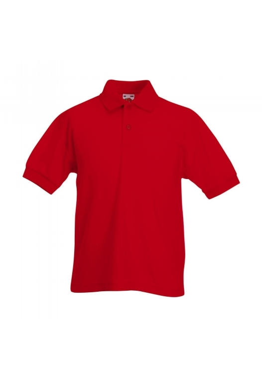 Polo Kids_red