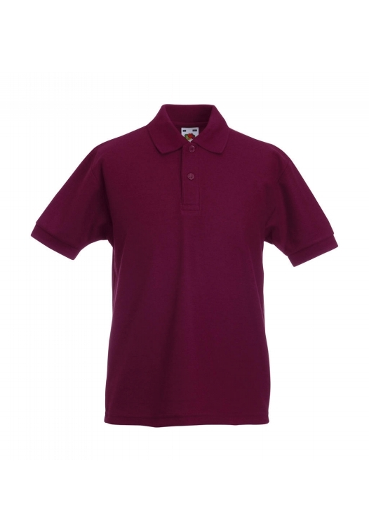 Polo Kids_burgundy