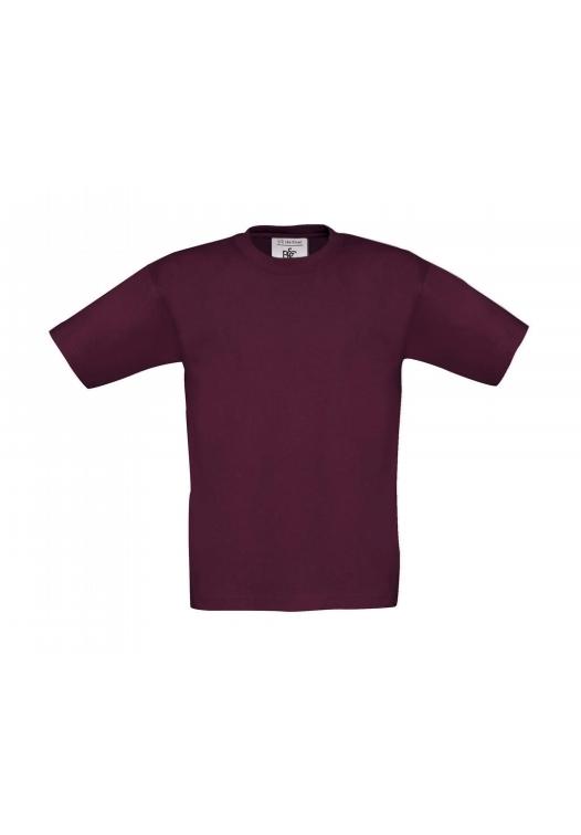 Kids T-Shirt TK300_burgundy