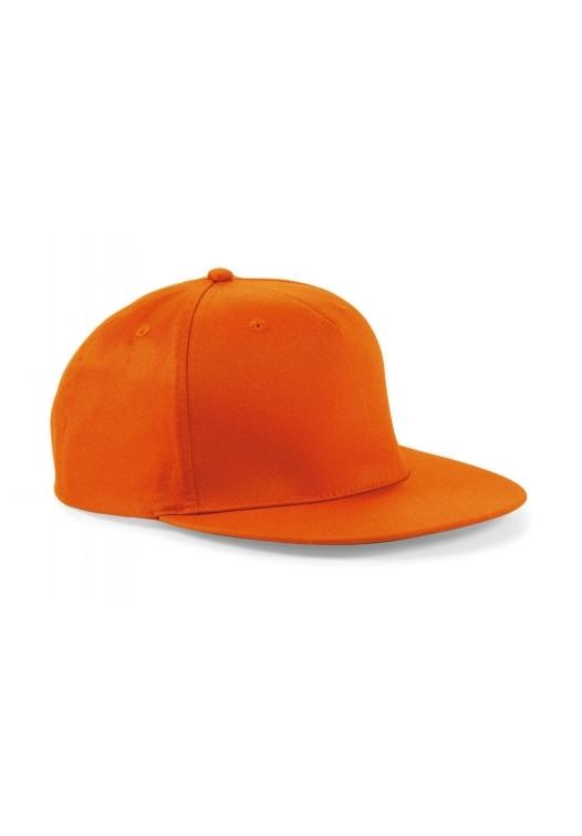 5 Panel Snapback Rapper Cap_orange