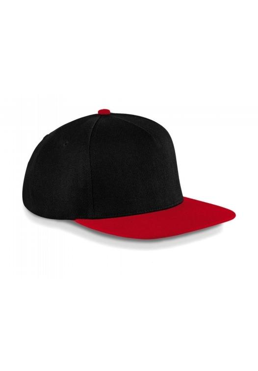 Original Flat Peak Snapback_black-classic-red