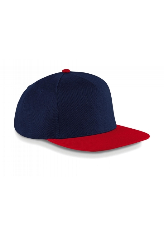 Original Flat Peak Snapback_French-Navy-Classic-Red