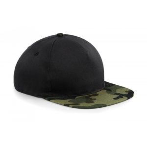 Camo Snapback_Jungle-Camo-Black