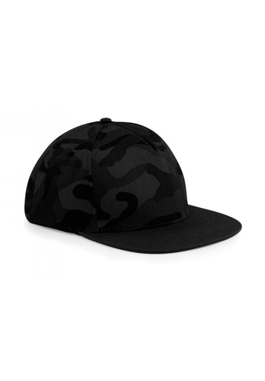 Camo Snapback_midnight-camo-Black