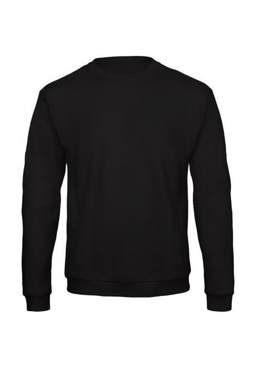 Crewneck Sweatshirt Unisex WUI23_black