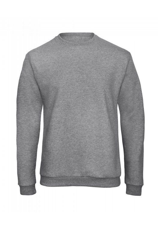 Crewneck Sweatshirt Unisex WUI23_heather-grey