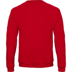 Crewneck Sweatshirt Unisex WUI23_red
