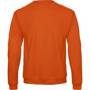 Crewneck Sweatshirt Unisex WUI23_pumpkin-orange