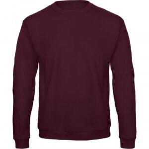 Crewneck Sweatshirt Unisex WUI23_burgundy