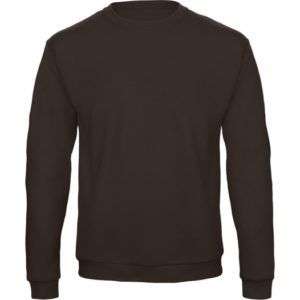 Crewneck Sweatshirt Unisex WUI23_brown