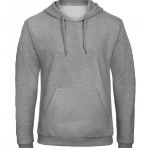 Hooded Sweatshirt Unisex WUI24_heather-grey