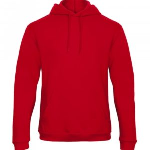 Hooded Sweatshirt Unisex WUI24_red