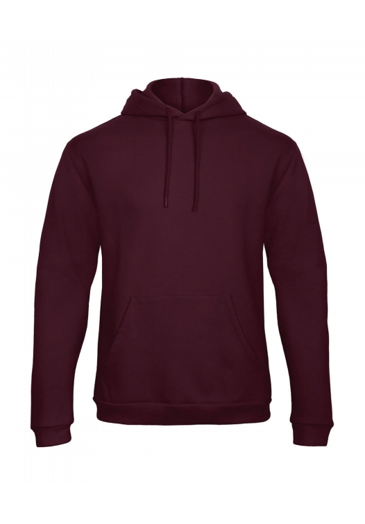 Hooded Sweatshirt Unisex WUI24_burgundy