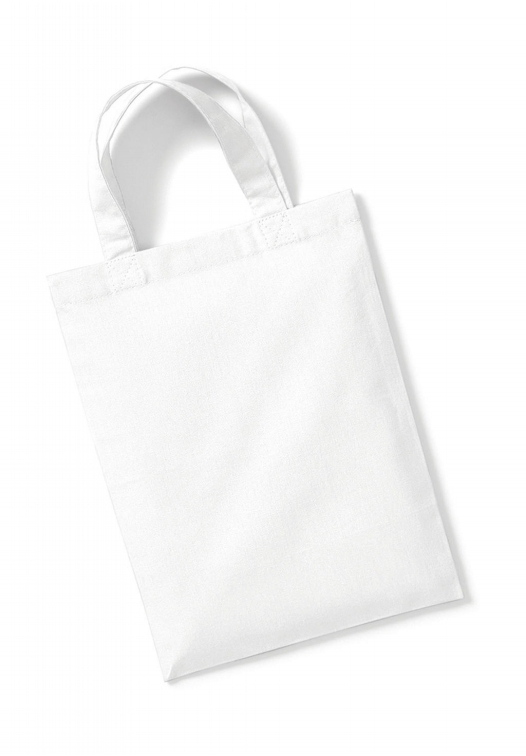 Cotton Party Bag for Life_white