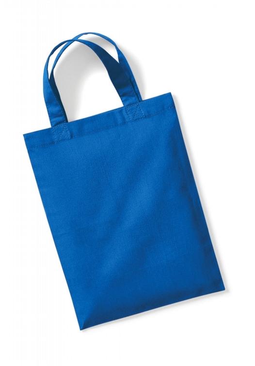 Cotton Party Bag for Life_sapphire-blue