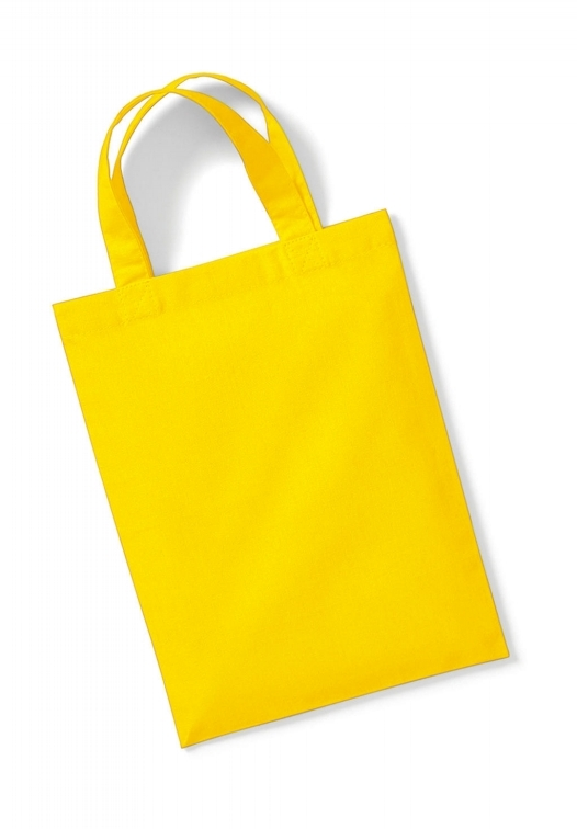 Cotton Party Bag for Life_yellow