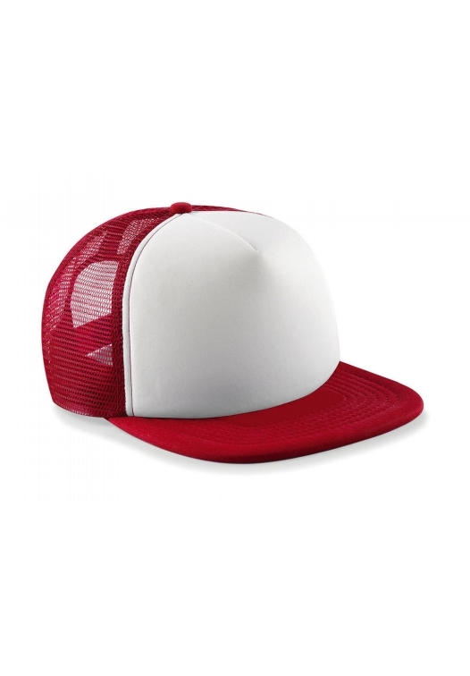 Vintage Snapback Trucker_455_Classic-Red-White