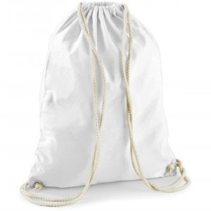 Cotton Gymsac_White