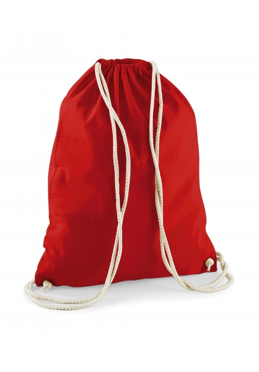 Cotton Gymsac_bright-red