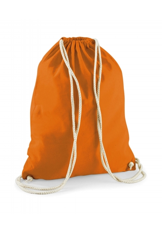 Cotton Gymsac_Orange